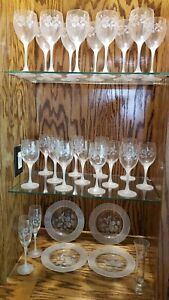 Avon Hummingbird Crystal -29 Piece Lot Pristine NOS