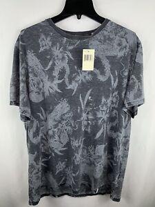 Guess Mens T-Shirt Gray Size XL Crewneck Short Sleeve NEW