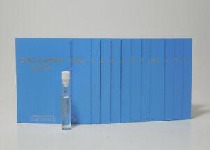 Dolce&Gabanna light blue Eau De Toilette 1.5 ml - 0.05 fl oz lot of 12 vials