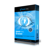 East-tec Eraser, Privacy Protection, Securely delete Internet, PC, USB, MMC, SD