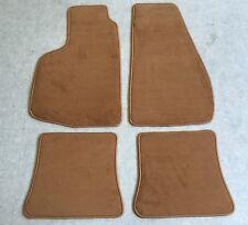 Autoteppiche Fußmatten für VW Golf 1 Cabrio Dattel 79-93 Velours 4teilig Neuware