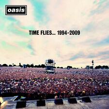 Oasis - Time Flies... 1994-2009 Album Cover Poster Giclée