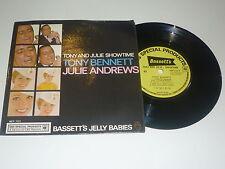 "TONY BENNETT & JULIE ANDREWS - Tony And Julie Showtime - Rare 1961 UK CBS 7"""