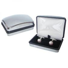 Rosa swarovski perla Gemelli formale Cruise SMART OCCASIONE REGALO SCATOLA