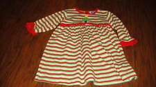 BOUTIQUE YOUNG COLORS 18M 18 MONTHS STRIPED CHRISTMAS TREE DRESS HOLIDAY