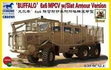 "Bronco 1/35 ""Buffalo"" 6x6 MPCV with Slat Grill Armor Version #35101"