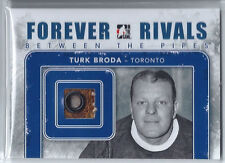 2012-13 ITG Forever Rivals Between The Pipes Glove Blue Turk Broda /6