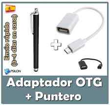 Cable adaptador OTG MICRO USB - Tablet Huawei Mediapad Link 10 Link + Puntero