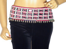 Tribal Belly Dance Belt Banjara Kutch Kuchi Mirror Vintage Textile Dancing Trim