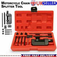 Motorcycle Bike Chain Breaker Splitter Link Riveter Set Riveting Tool UK STOCK
