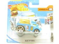 Hotwheels Buns of Steel Blue HW Metro FYC63 Short Card 1 64 Scale Sealed