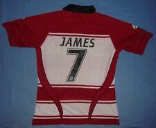 Wigan Warriors / 2010 Home - #7 JAMES - KooGa - MENS rugby Shirt / Jersey. LRG
