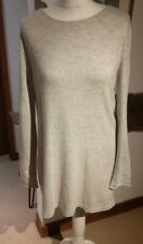 Oui Ladies Grey Tie back Jumper Top Tunic -  Size 14