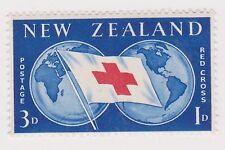 (PDY-287) 1966 NZ 3d red cross (A)