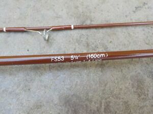 Vintage Fenwick FS53 Spinning Rod  5 foot 3 inch Ultralight Exc. Condition