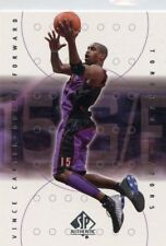 Vince Carter 2000-01 Upper Deck SP Authentic  #79  Toronto Raptors
