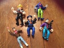 Vintage 1989? Disney Playmates Toys DICK TRACY  Set of 5 figurines