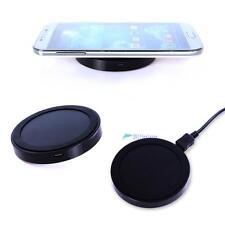 UL Qi Standard Wireles Charging Pad fr Samsung S4 S3 Note2 3 LG Nexus 4 Black TL
