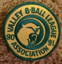 Valley 8 Ball League Association Patch