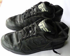 Vintage Early 90's Black Converse Cons Leather Basketball Shoes - Men's Size 10