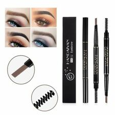 Triangle Twistup Waterproof Eyebrow Pencil Eye Brow Pen With Brush Make-Up Tools
