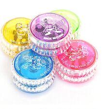 New LED Light Up Yoyo YoYo Ball Bearing Glow Trick String Kids Toy Game GIft M39