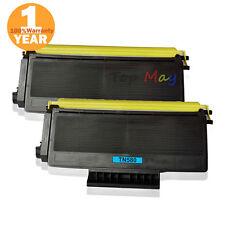 2Pack TN580 TN650 Toner Cartridge Fit Brother HL-5240LT/5250DN/5250DNHY/5250DNLT