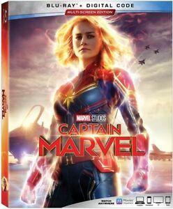 CAPTAIN MARVEL [Blu-ray] FREE SHIPPING