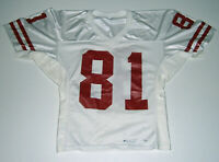 1990's BADGERS Michael Roan Game Used jersey #81 worn Wisconsin football rare