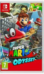 Super Mario Odyssey - Nintendo Switch Spiel - Neuwertig