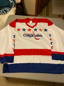 Replica Washington Capitals   Home Hockey Jersey CCM XL NHL sewn crest