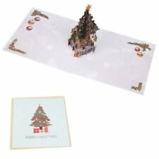 Christmas fairy tales greeting cards invitations ebay 1pc fashion handmade 3d pop up merry christmas xmas new year gift greeting cards m4hsunfo