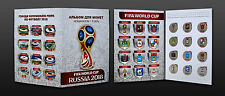 Russia, 2016 World Cup 2018 football host cities colored 12 coins x 1 Rbl album