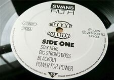 Swans Filth-ORIG German LP post punk