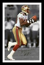 JERRY RICE - SAN FRANCISCO 49ERS AUTOGRAPHED SIGNED & FRAMED PP POSTER PHOTO