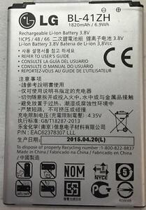 New OEM LG BL-41ZH Leon H340 H345 MS345 H343 Risio C40 L50 D213N TRIBUTE 2 LS665