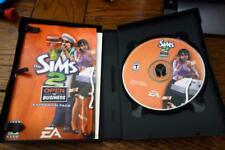 The Sims 2 OPEN for BUSINESS (PC) Game, COMPLETE,Case, Man, w/Code Key, VG