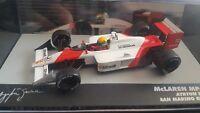 McLaren Honda MP4/4 Senna San Marino GP 1988   #12 IXO/ALTAYA 1-43 scale  Car