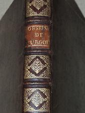 ORDONNANCE DE LOUIS XV  J.B. FURGOLE  TOULOUSE  1733  IN FOLIO RELIE
