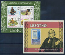 Lesotho 1975 Bloc Feuillet 100% ** Musicales instruments, Rowland Hill