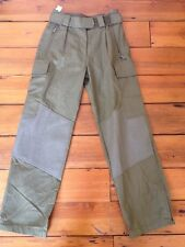 Para Aramid German Army Military Field Cargo Work Pants 27x29.5 27 Waist Small