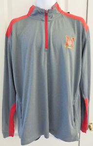 MARYLAND TERRAPINS Terps Pullover 1/4 Zip Jacket, Various Sizes, NWT