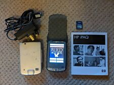 HP iPAQ HX2000 Series PDA with Collins & RSPB Bird Guides, Good Battery & Extras