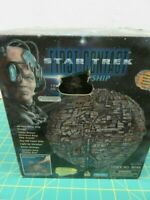 Playmates Star Trek Borg Sphere Ship First Contact 16149 Desk Top Display Opened