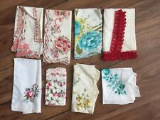 Vintage Ladies Hankerchiefs (Lot of 8) #Floral #Birthday