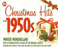 CHRISTMAS HITS OF THE 1950s - 2 CD BOX SET - WINTER WONDERLAND