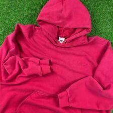 Vintage Nike Hoodie 90s Red Basic OG Center Swoosh Travis Scott Size XL