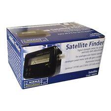Nikkai Satellite Finder Signal Strength Meter Easy Sky Freesat Dish Adjustment