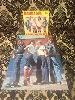 ABBA - Single Vinyl, Mamma Mia & Poster, sehr selten, rare