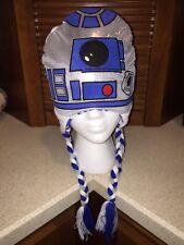 R2-D2 BEANIE HAT laplander winter cap adult STAR WARS LucasFilm